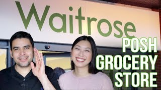 WAITROSE: Posh Grocery Store Shopping! | The Postmodern Family EP#88