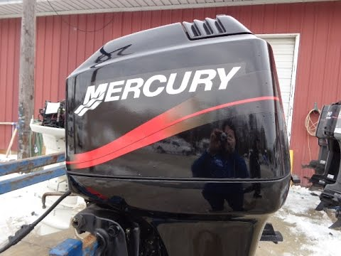 6m4f79 used 2003 mercury 75elpto 75hp 2 stroke remote for 2 2 mercury outboard motor