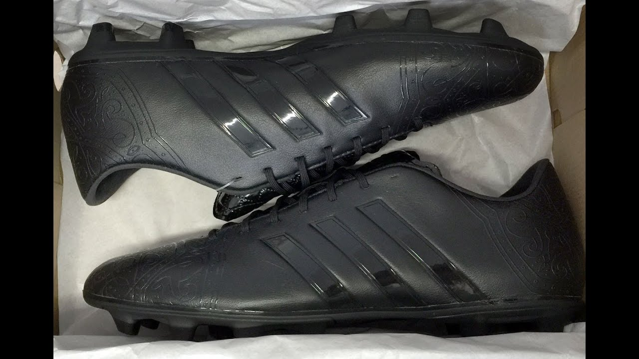 adidas 11pro black pack fg