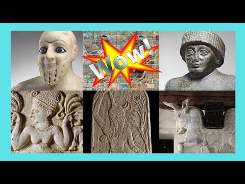 THE LOUVRE, the wonderful ANCIENT MESOPOTAMIA exhibit, PARIS
