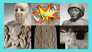 The Ancient Mesopotamia wonderful exhibit, the Louvre, Paris