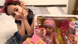 Розпакування baby doll (аналог baby born)