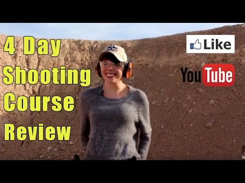 4 Day Handgun Training Review | Female shooting Course Review | Handgun Course Student Review