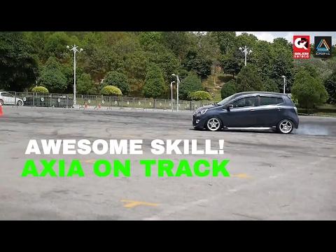 Perodua Axia – Putrajaya Gymkhana Drift Challenge