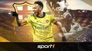 Suarez verletzt: Wird jetzt Aubameyang der neue Barca-Knipser? | SPORT1 - TRANSFERMARKT-SHOW