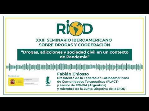 XXIII Seminario RIOD - Podcast: Adicciones y salud en tiempo del COVID19