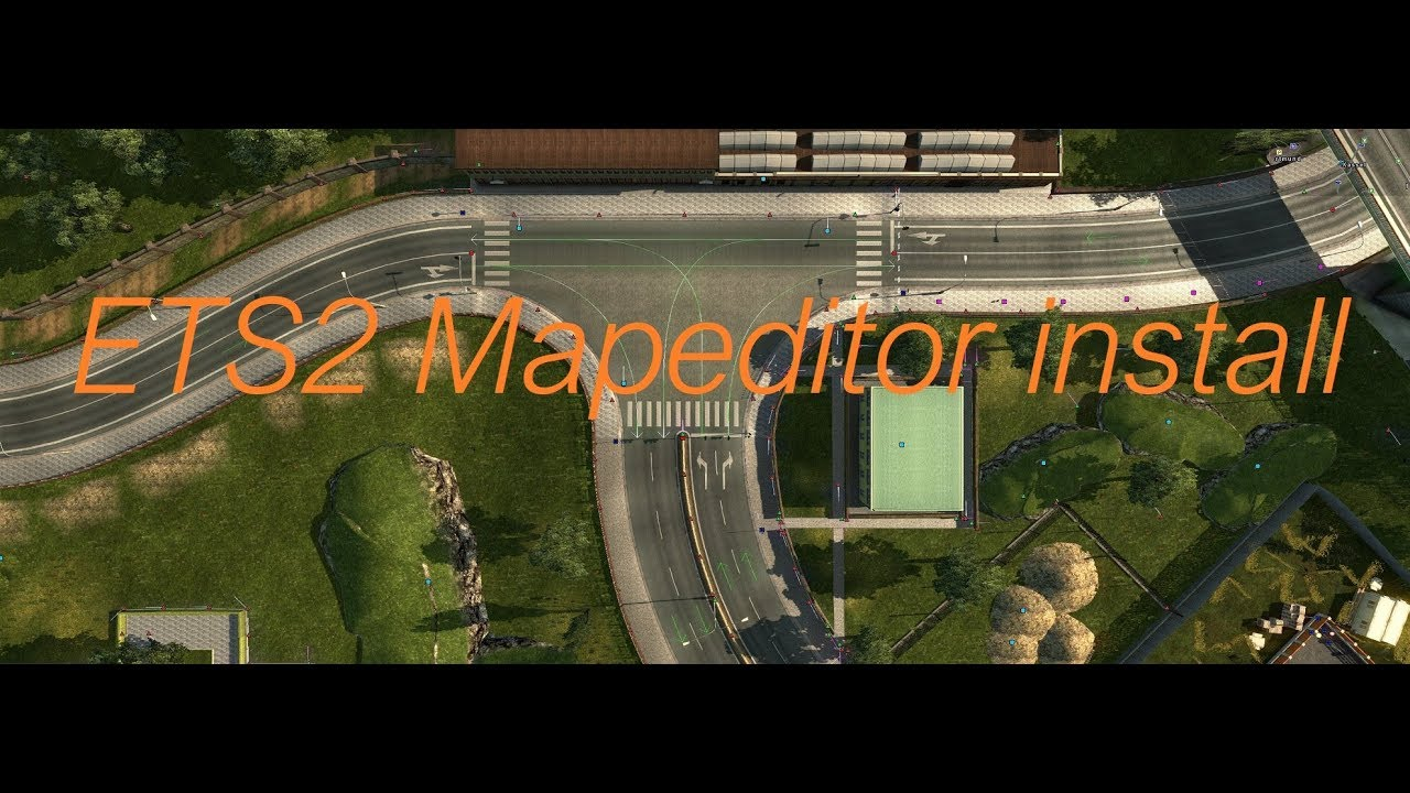 Euro Truck Simulator 2 how to install the map editor