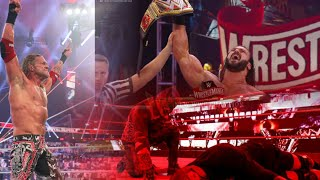 Edge Wins Universal Title| Wrestlemania 37 Highlights Results Wrestlemania 37 Results 2021