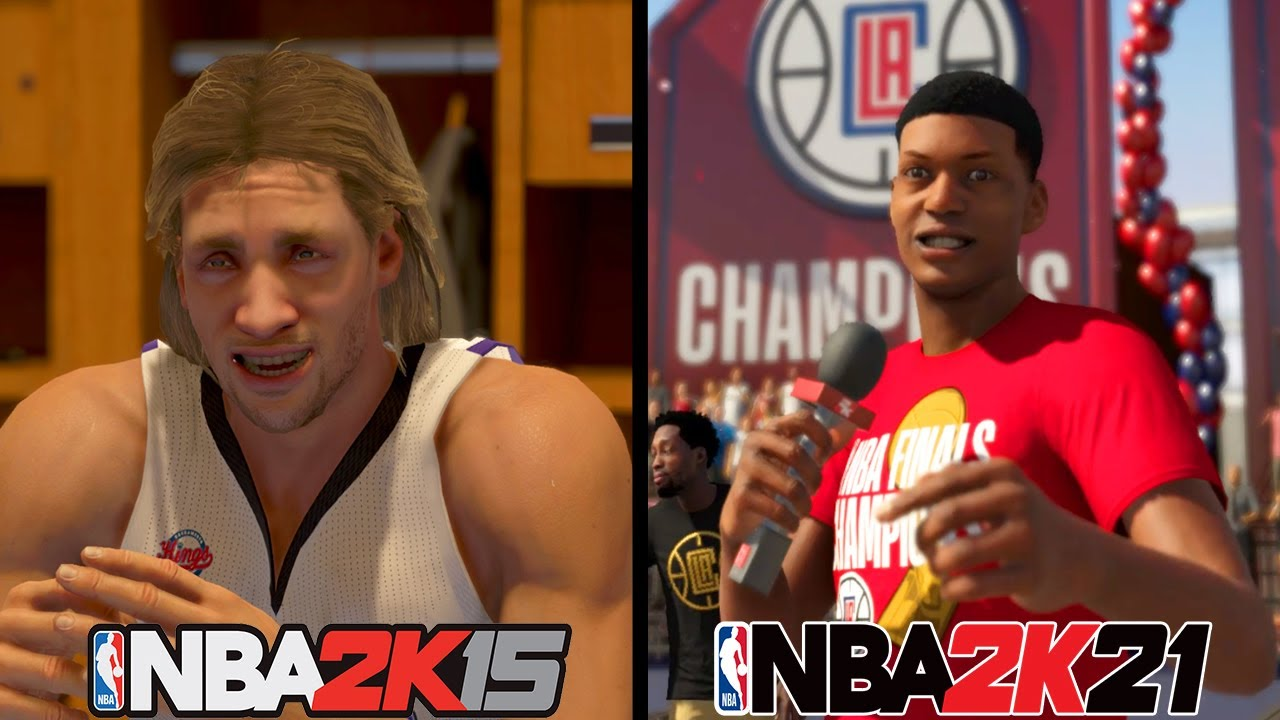 Evolution of What Happens When You Win the Championship in My Career (NBA 2K12 - NBA 2K21)