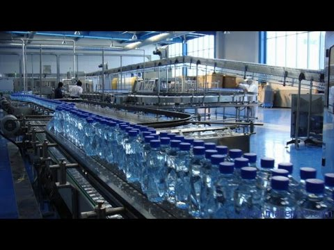 12000BPH full automatic water bottling plant in China, bottled water  production line