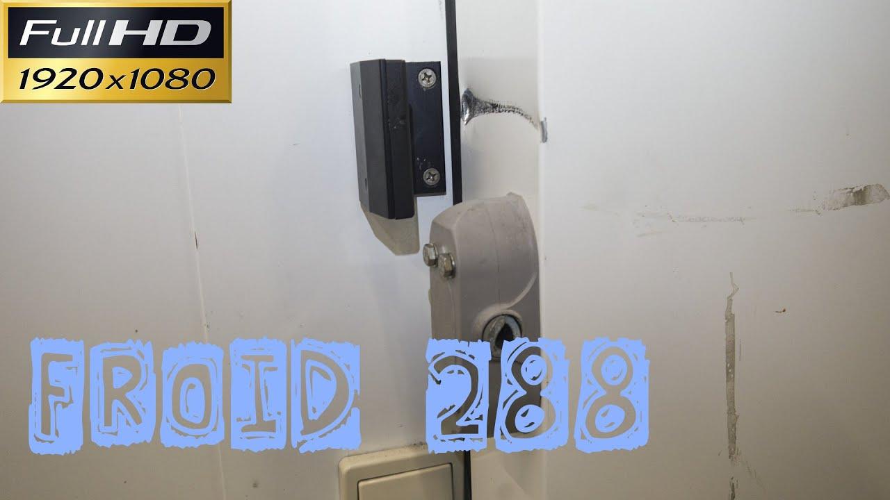 Froid288 le remplacement de la poign e cass e d 39 une porte coulissante de chambre froide n gative for Poignee chambre froide dagard