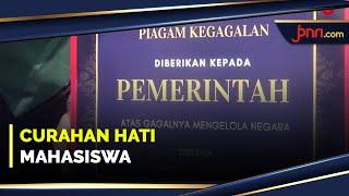 Piagam dari Massa Bem SI Sangat Menohok Jokowi - JPNN.com