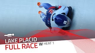 Lake Placid | BMW IBSF World Cup 2017/2018 - Women's Skeleton Heat 1 | IBSF Official