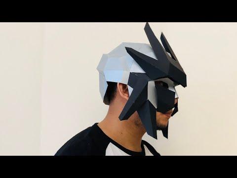 Wintercroft Ranger Mask Timelapse Build