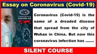 Essay on Coronavirus / Covid-19