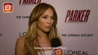 Jennifer Lopez & Jason Statham - 'Parker' Movie Premiere NYC 23/1/13 - ET Online