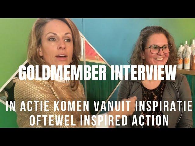 In actie komen vanuit inspiratie oftewel inspired action. Interview Mariken Duncker