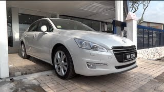 2011 Peugeot 508 Start-Up and Full Vehicle Tour