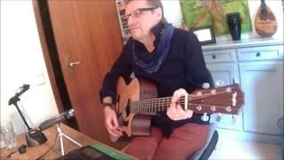 Stumblin' In - Suzi Quatro & Chris Norman - Acoustic Guitar Unplugged Rendition