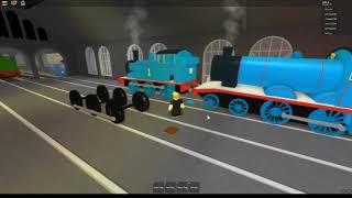 Thomas der Tankmotor Abstürze - Roblox Zug