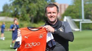Welcome Back To Luton Town Nathan Jones!