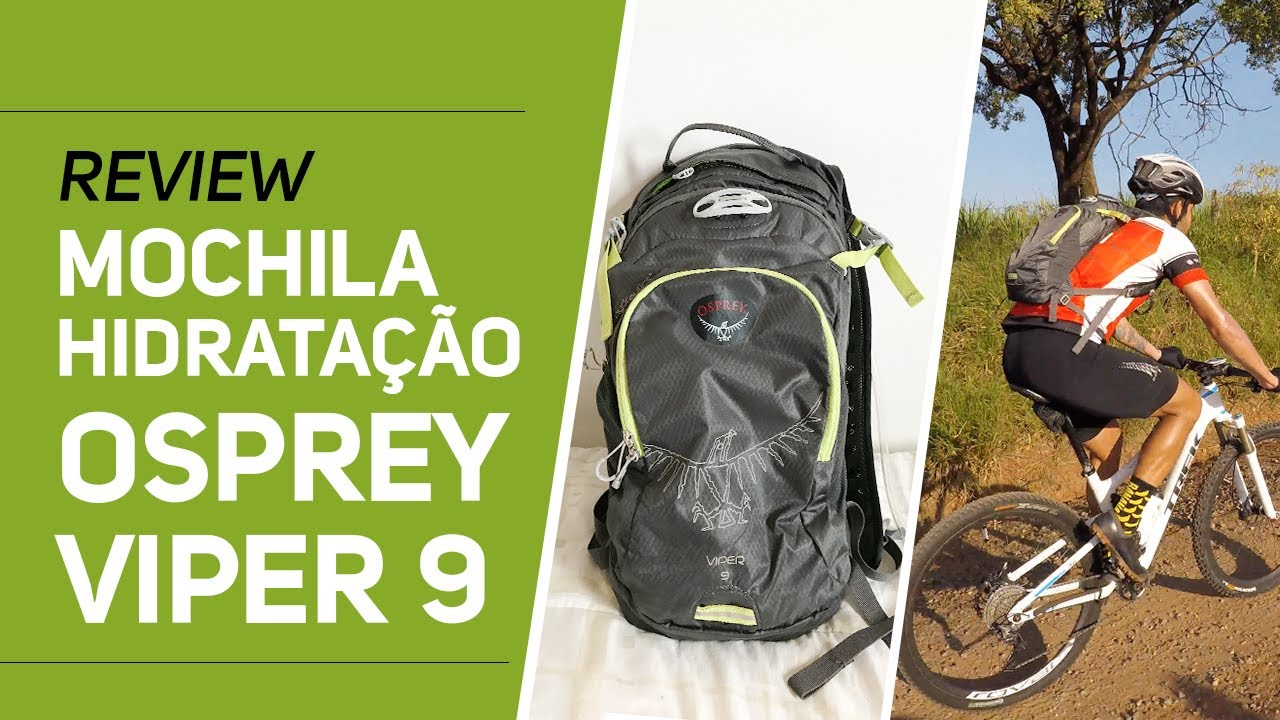 1d478cfed Review Mochila hidratação Osprey Viper 9 - Revista Ride Bike - YouTube
