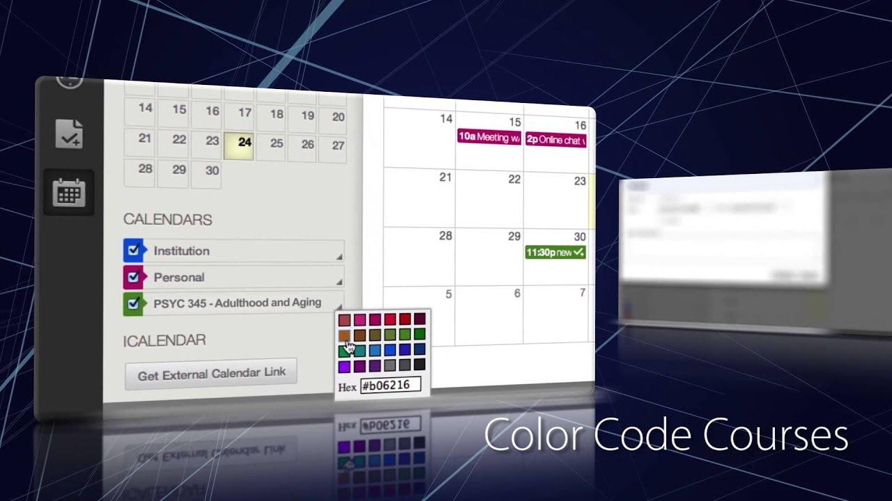 WVU eCampus Calendar - YouTube