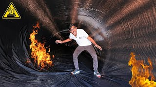 Entering into World's Hottest Tunnel ! बस मरते मरते बचा | Do Not try