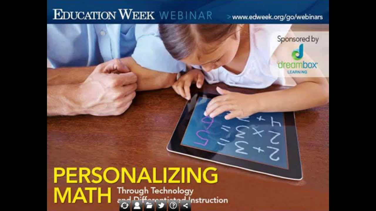 Personalizing Math Through Technology And Differentiated Instruction