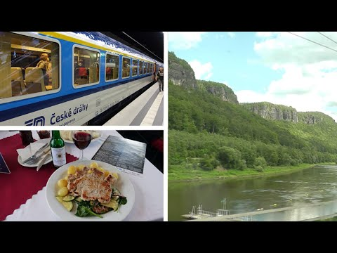 Berlin to Prague by EuroCity train