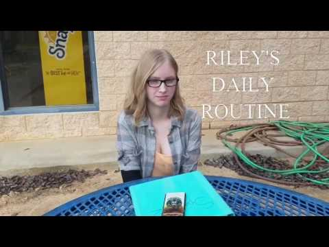 Spanish 2 daily routine video