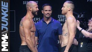 'Cowboy' Cerrone, Justin Gaethje faceoff ahead of UFC Vancouver