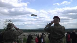 U.S Army - 173rd Airborne Jump in Chechlo, Poland