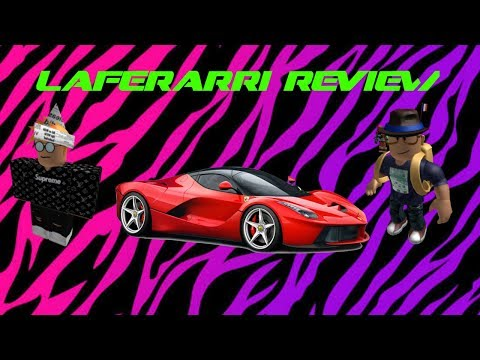 Lazy Pagani Ft. xxlucasb10| Ferrari Laferrari Review| Roblox Vehicle Simulator