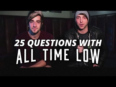 25 Questions with All Time Low