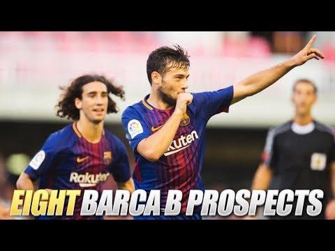 EIGHT Barcelona B Young Prospects | ft. Alena, Arnaiz & Cucurella | 2017