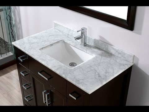 42 Inch Bathroom Vanity 42 Inch Bathroom Vanity Cabinet Youtube