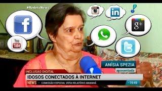 """Baixar WhatsApp, Facebook... E a """"moçada"""" da 3ª idade está cada vez mais conectada!"""