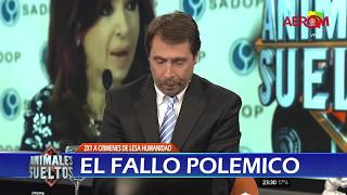 """Video / """"Fantino deja de mentir"""", el grito a """"Animales Sueltos"""""""