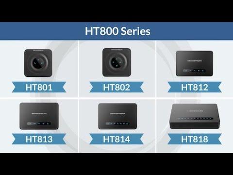 Grandstream HT800 Series: Analog Telephone Adapter