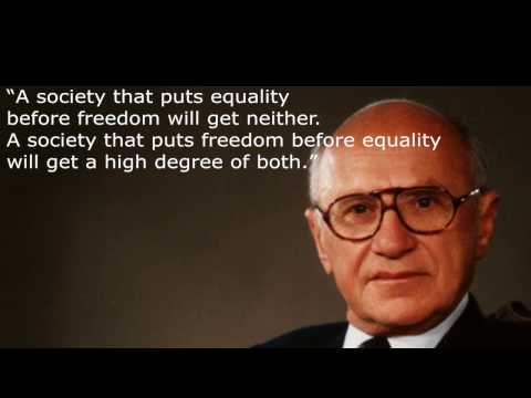 Milton Friedman, Greatest Economist Of All Time!!