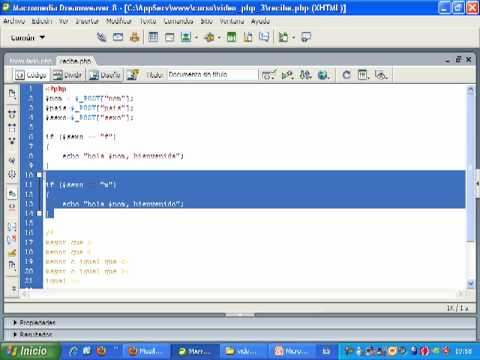 VideoTutorial 3 del Curso de PHP y MySQL