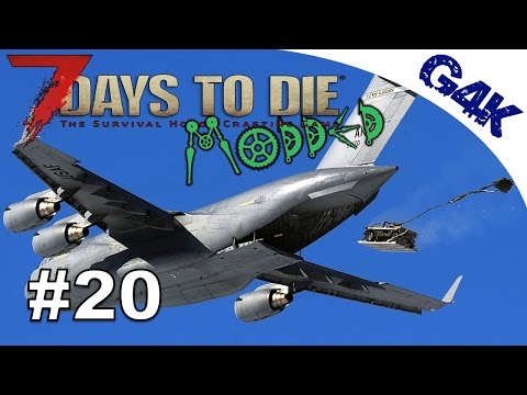 Planes and Supplies | 7 Days To Die Valmod Let's Play | Part 20