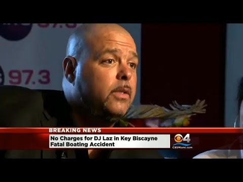 Prosecutors Drop Charges Against DJ Laz In Fatal Boating Accident