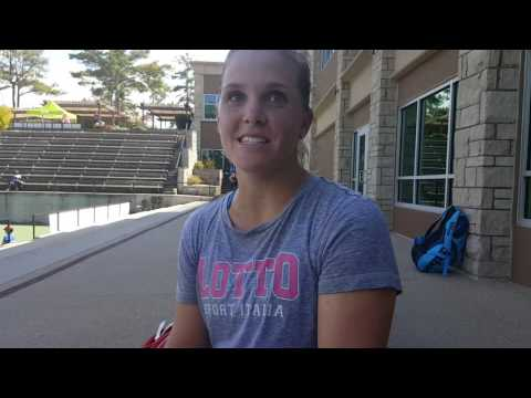Melanie Oudin at the One Love Tennis Open