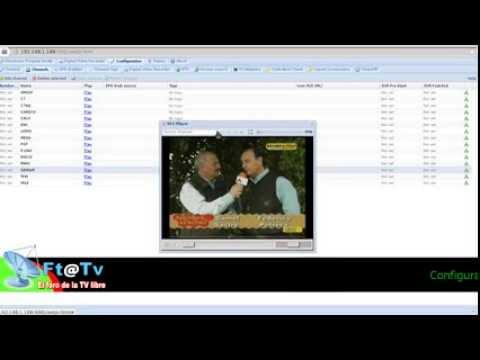 MOI Streaming Box + TVHeadend: Configuración