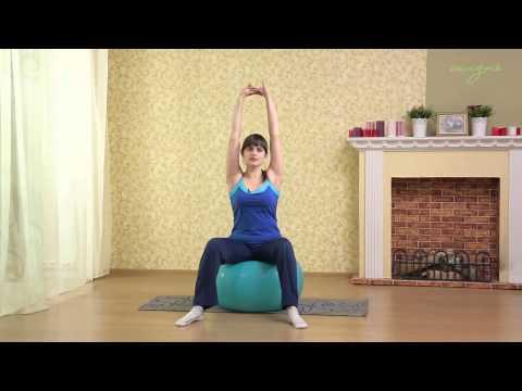 Вопрос: Как упражняться с гимнастическим мячом во время беременности и после родов?