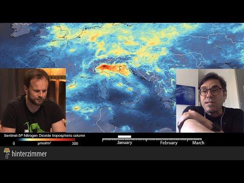 Plötzlich saubere Luft - Auswirkungen des Corona Lockdown | Andreas Jäger erklärt im Hinterzimmer