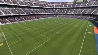 FIFA 14-PC Gameplay (FC Barcelona vs Real Madrid)