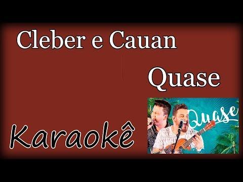 Karaokê Cleber e Cauan - Quase  (Violão Cover) Acústico